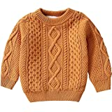 Product review for BINPAW Kid's Vintage Twist Pattern Sweater, 12 Months-11 Years