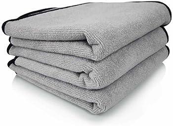 3-Pack Chemical Guys MIC102303 Microfiber Detailing Towel, 16