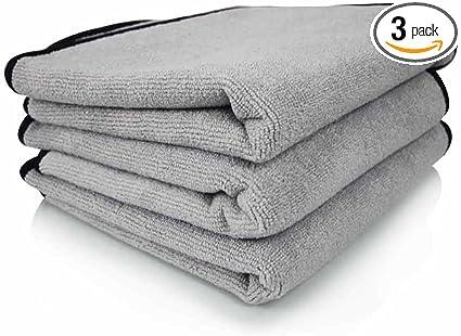 "Ultra Plush Microfiber Detailing Towel 16/""x 24/"" Edgeless 12 Pack FAST FREE SHIP"