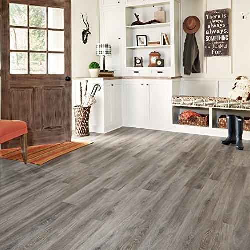 Mannington Hardware ALP661 Adura Glue Down Distinctive Collection Luxury Margate Oak Vinyl Plank Flooring, Waterfront by Mannington (Image #1)
