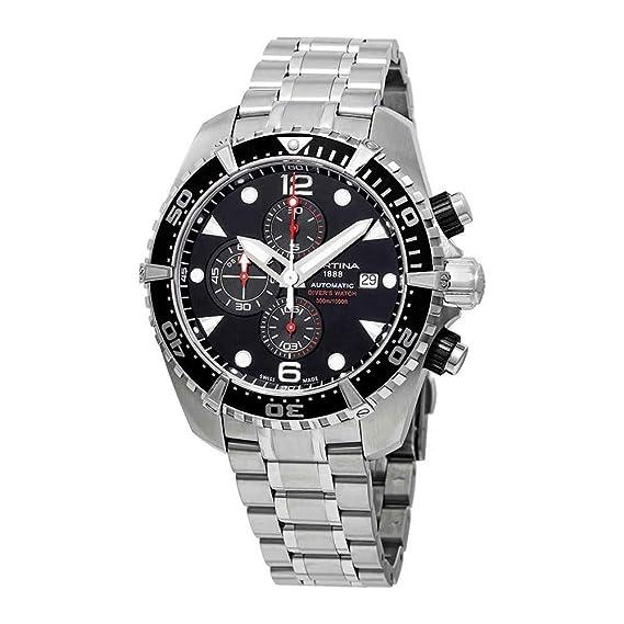 Certina DS Action Reloj de Hombre automático 45.7mm de Acero C032.427.11.051.00: Amazon.es: Relojes