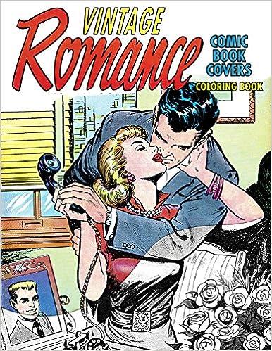 Amazon com: Vintage Romance Comic Book Covers Coloring Book