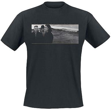 U2 Joshua Tree T-Shirt Manches Courtes Noir