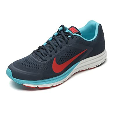 931858ea25d Nike New Zoom Structure+ 17 Mens Running Trainers 615587 464 UK Size UK 6  US 7 EU 40 Armory Navy Chilling Red Gamma Blue Summit  Amazon.co.uk  Shoes    Bags