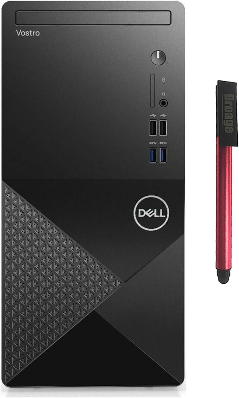 Dell Vostro 3888 Business Desktop Computer_ Intel Hexa-Core i5-10400 (Beats i7-7700)_ 64GB DDR4 RAM_ 2TB PCIe SSD + 1TB HDD_ DVDRW_ 802.11AC WiFi_ HDMI_ VGA_ Windows 10 Pro_ BROAGE 64GB Flash Drive