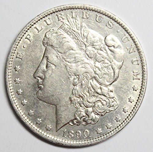 1890 O Morgan Silver Dollar $1 AU