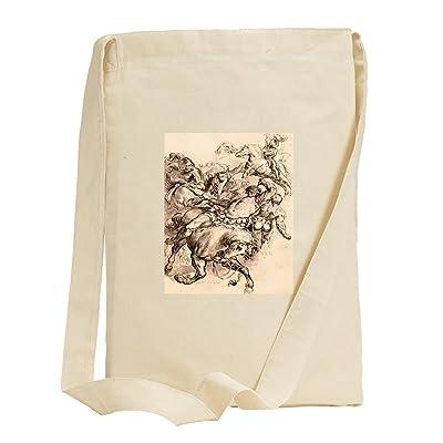 Reiter Battle (Rubens) Canvas Sling Tote Bag