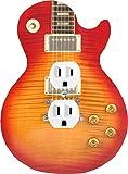 Music Treasures Co. Cherry Sunburst Electric Guitar Duplex Outlet Cover