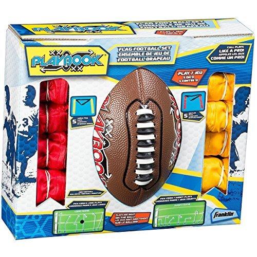 Franklin Youth Mini Playbook Flag Football Set]()