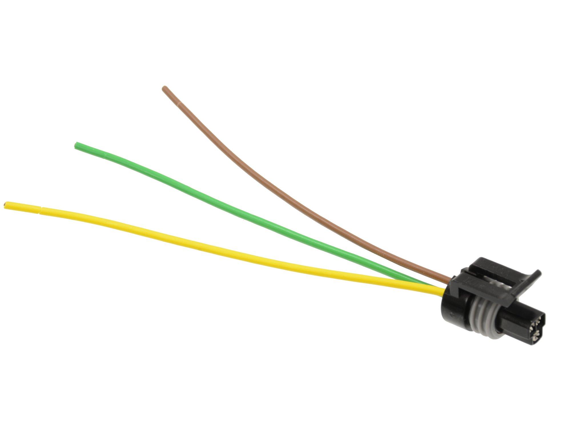 Michigan Motorsports LS1 Coolant Temperature Temp Sensor Connector Harness 3 Wire Fits GM