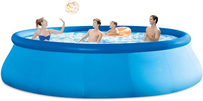 Easy Set Pool - Piscina Hinchable, Piscina Inflable Adultos Niños Familia Tamaño Completo Piscina De Ocio Piscinas Integradas 244 X 76 Cm, 2419 litros