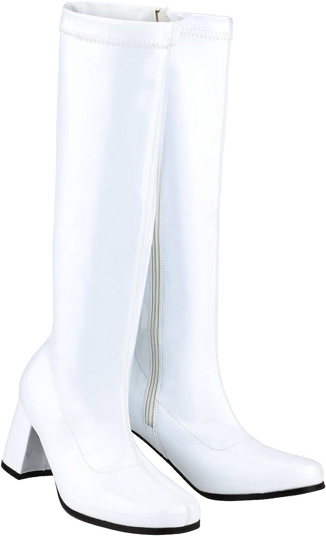 Vintage Boots, Retro Boots New Ladies Womens Fancy Dress Party Go Go Boots 1960s & 1970s Retro £24.99 AT vintagedancer.com