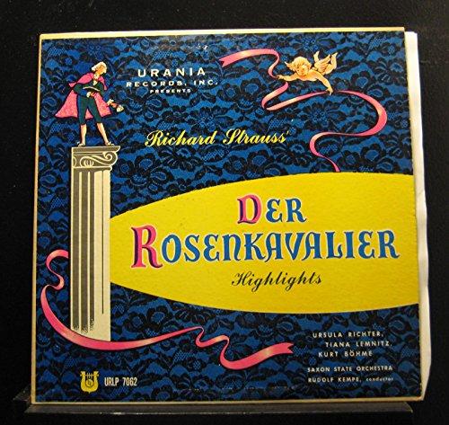 (Rudolf Kempe, Richard Strauss - Highlights From Der Rosenkavalier - Lp Vinyl Record)