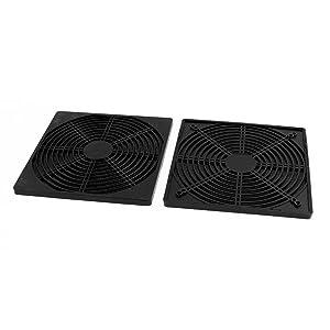 uxcell A16052700ux0543 206 Mm X 206 Mm Dustproof Case PC Computer Case Fan Dust Filter (Pack of 2)