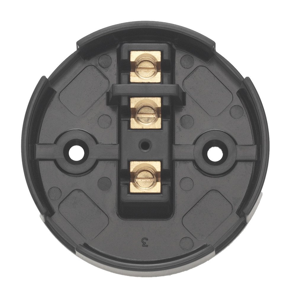 Pack of 10 Contactum CAC2730 30A 3 Terminal Junction Box Black