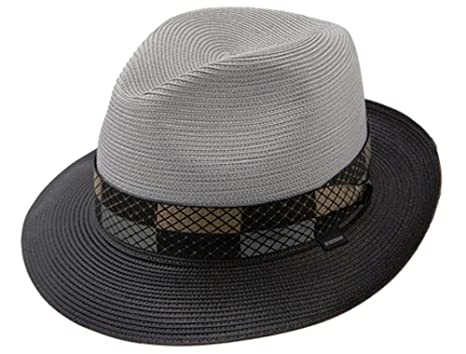 5deb71f5 Stetson Men's Andover Florenine Milan Straw Hat at Amazon Men's ...