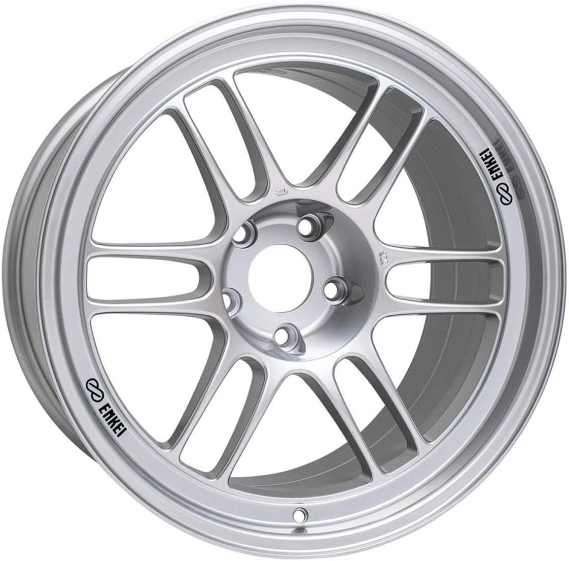 18x7.5 Enkei RPF1 (F1 Silver) Wheels/Rims 5x114.3 (3798756548SP)