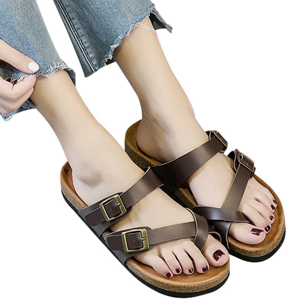 Toe Mule Sandals Strap