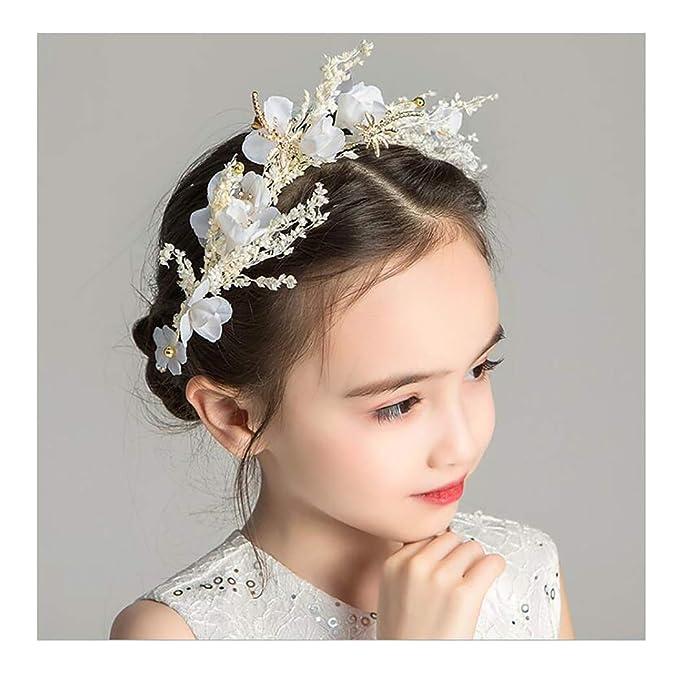 Dedicated Beautiful Fashion Jewelry Floral Handmade Flower Tiara/crown For Women And Girls Hair & Head Jewelry