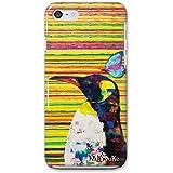 iPhoneSE iPhoneケース (ハードケース) [薄型/耐熱/全面印刷] Nijisuke (ニジスケ) ペンギン CollaBorn (iPhone5s/iPhone5対応)