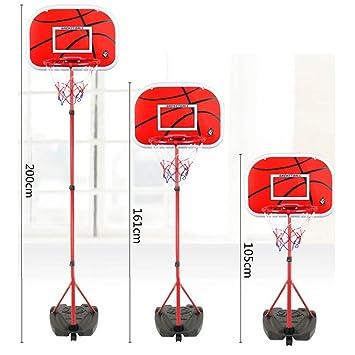 Mecotech Canasta Baloncesto Infantil 105-200cm Ajustable ...