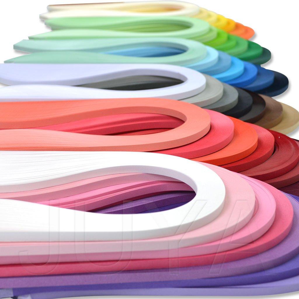 QUILLING - FILIGRANA 42 colores x 100 tiras 10mm x 39cm Juya