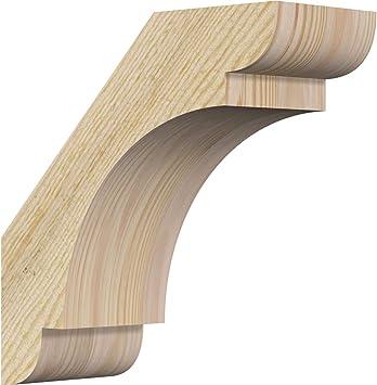 Ekena Millwork Brc04x10x10oly00rdf Olympic Brace 10 D X 10 H 4 W Douglas Fir Rough Sawn Amazon Com