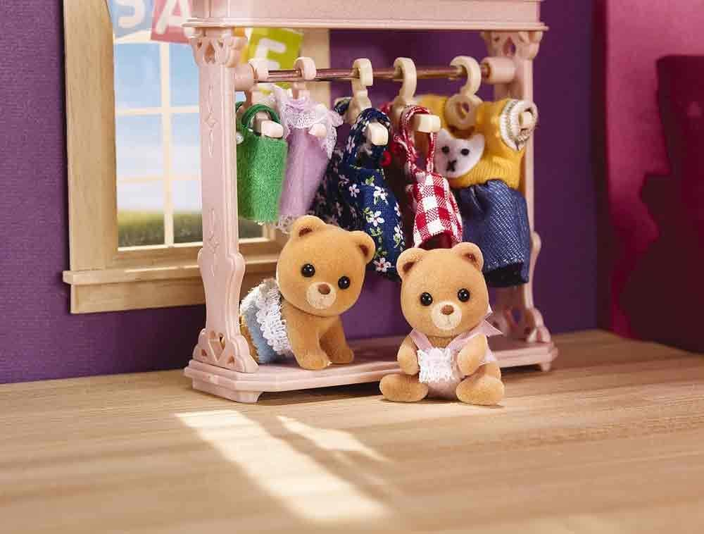 Calico Critters Hamster Baby Twin Play Set Kids Toddler Toy Pretend Gift NEW