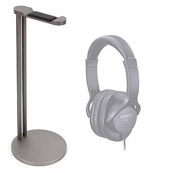 DURAGADGET Soporte de Acero para Auriculares HAMSWAN N9-EU/Pioneer SE-M521 /