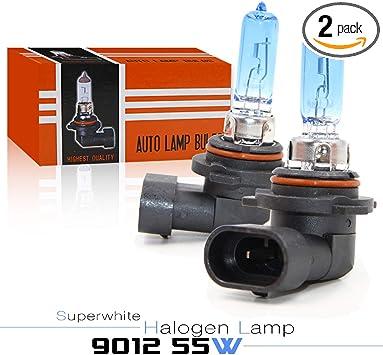 9012 HIR2 30/% Brighter Halogen Headlight Headlamp Bulb 12v 55w PX22d