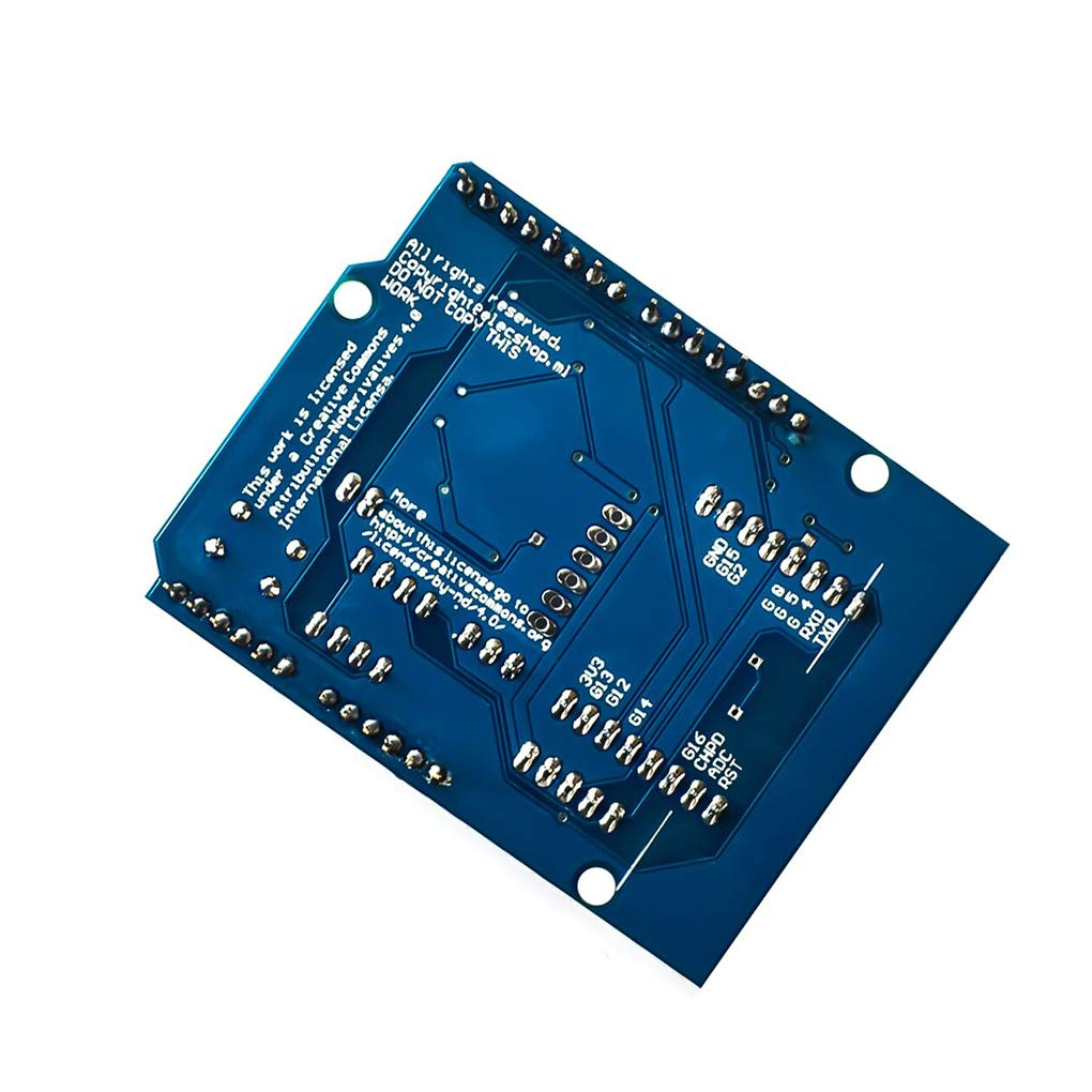 Ben-gi ESP8266 ESP-12E WiFi Wireless-Schild Development Board Ersatz f/ür Arduino UNO R3-Leiterplatten-Module