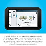 """Garmin RV 785 & Traffic, Advanced GPS Navigator for RVs with Built-in Dash Cam, 7"""" Touch Display and Voice-Activated Navigation Base Accessory Kit"""