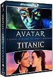 Coffret Blu-ray 3D : Avatar + Titanic [Import italien]