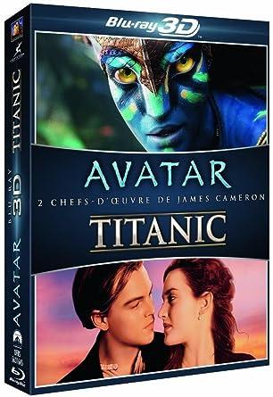 titanic blu ray  : Coffret Blu-ray 3D : Avatar + Titanic: Movies & TV
