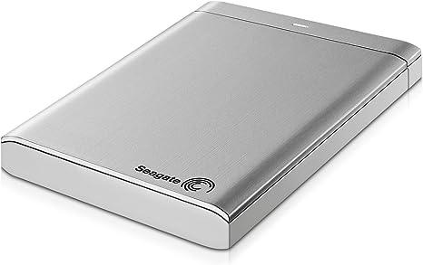 Seagate Backup Plus Slim 750GB USB 3.0 HDD Portable External Hard Drive Silver