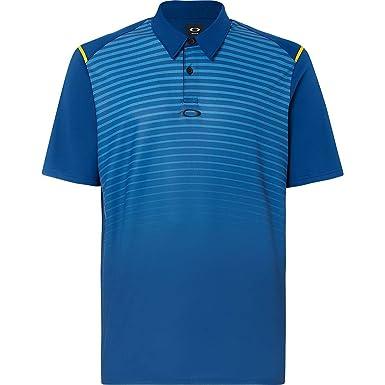 Oakley Mens Polo Shirt Ss Striped Ellipse, Dark Blue, XXXL ...
