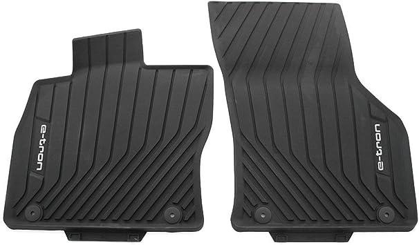 Audi 8v1061221a041 Fußmatten Allwetterfußmatten Vorn 2x Gummimatten Schwarz Mit E Tron Schriftzug Auto
