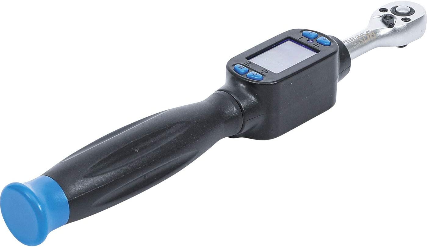 OC-PRO CLE DYNAMOMETRIQUE Digitale 1//4 BGS TECHNIC Serrage Droite ET Gauche 6-30 Nm BGS