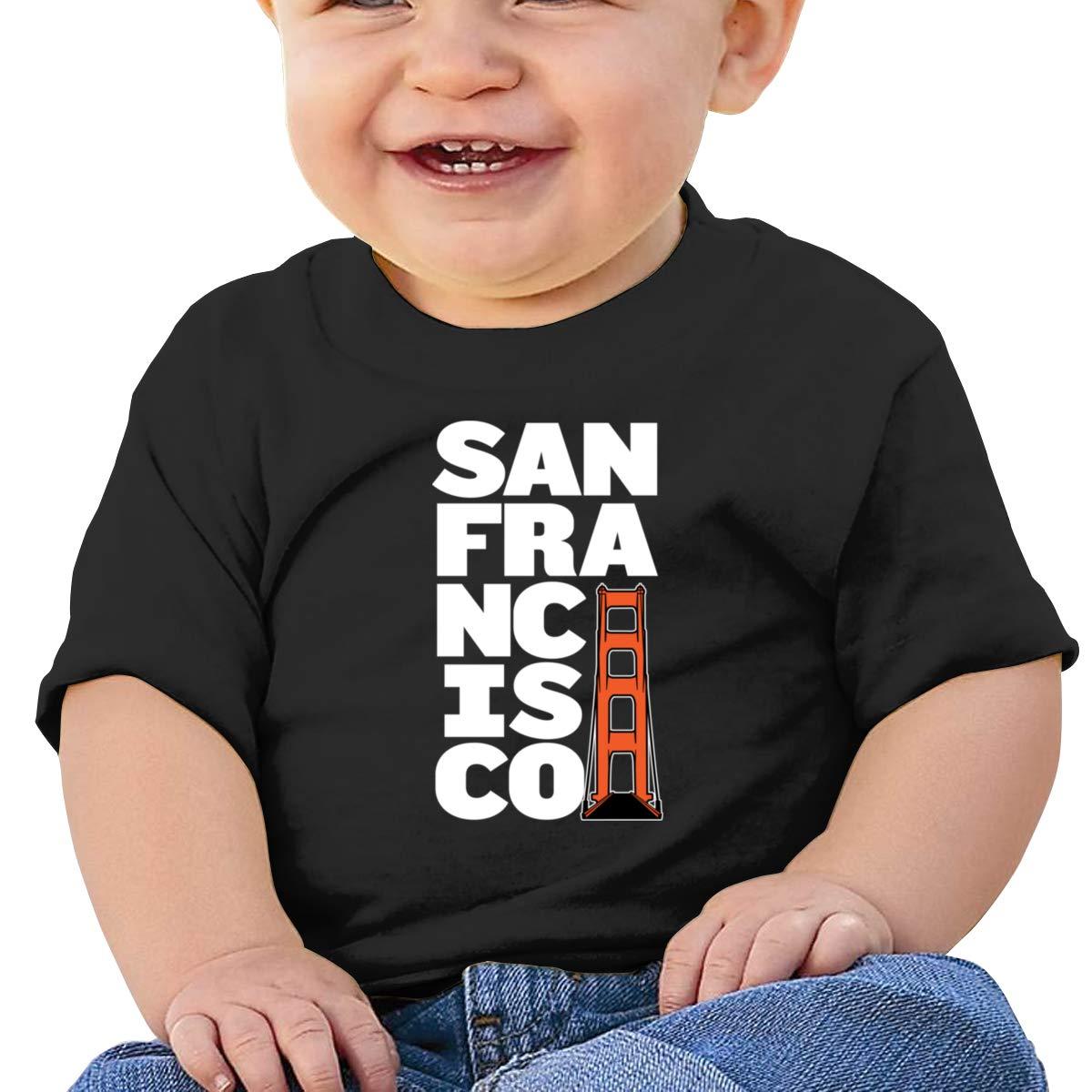 Golden Gate Bridge San Francisco Short-Sleeve Tshirt Baby Boys