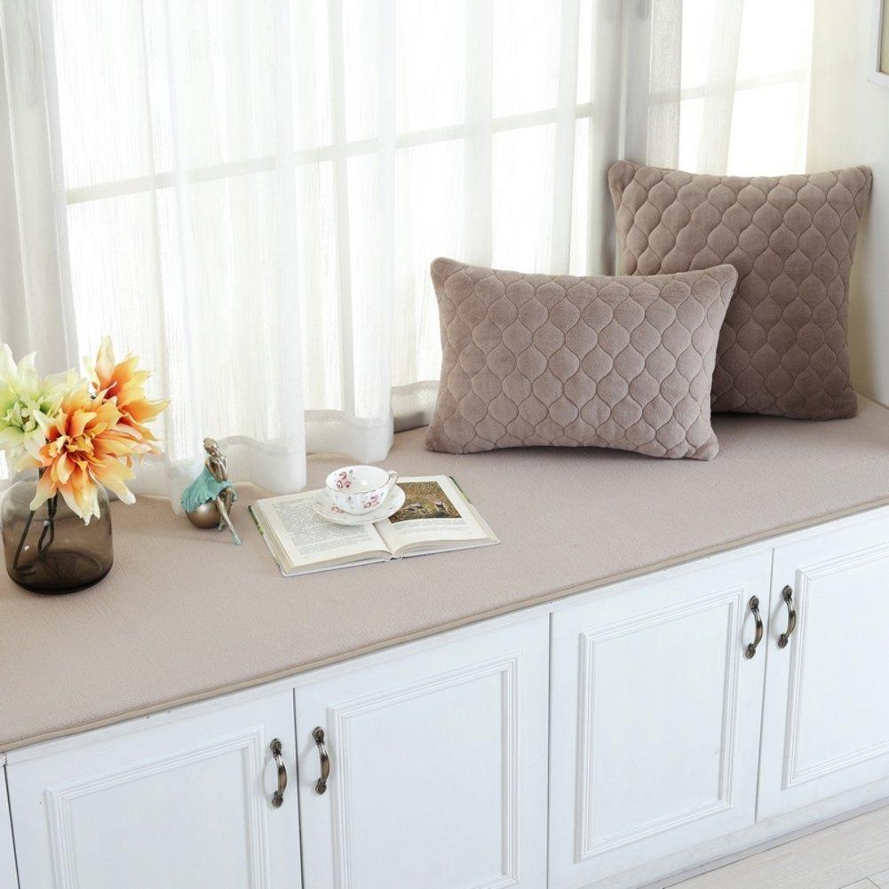 Window mat/tatami mats/sill pad/winter plush balcony mat/mat/cushion-F 60x160cm(24x63inch)