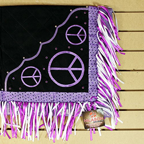 Buy western show blanket purple
