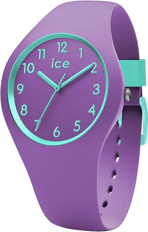 ICE-WATCH Reloj Analógico para Unisex Niños de Cuarzo con Correa en Silicona