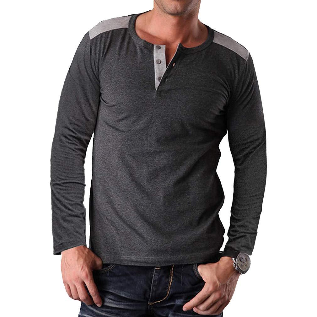 Yying T-Shirts /À Manches Longues en Coton Jumper Plus La Taille M-2XL