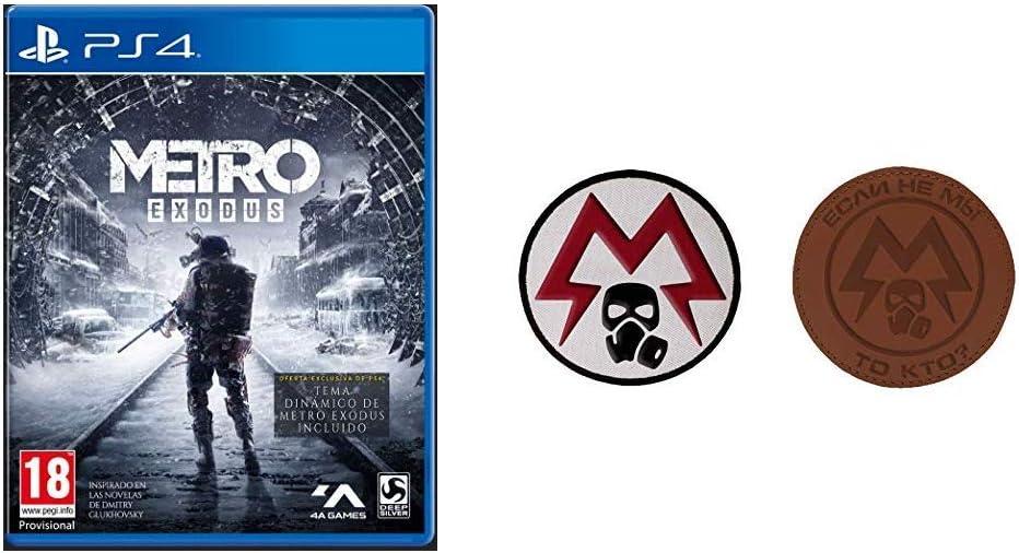 Metro Exodus Day One Edition PS4 + Metro Exodus Patch: Amazon.es: Videojuegos
