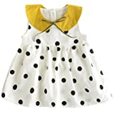 52f0417f0 BOBORA for Long Sleeve Baby Toddler Girls Dress Polka Dot Print Sleeveless  Top