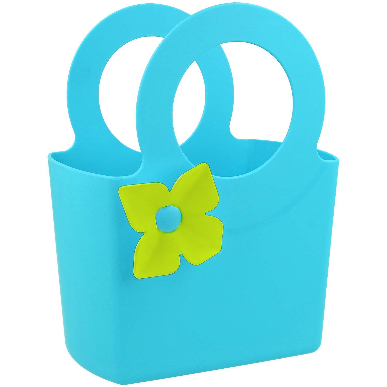 Pflanzenkelle Spr/ühflasche und Tragetasche Blumengabel Blumenschaufel com-four/® 5-teiliges Gartenwerkzeug-Set 5-teilig - blau
