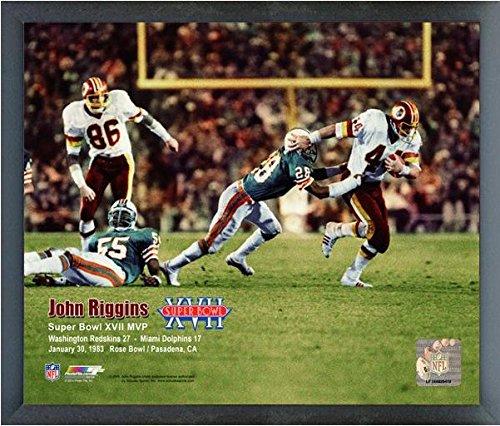 John Riggins Washington Redskins Super Bowl Xvii Mvp Photo  Size  17  X 21   Framed