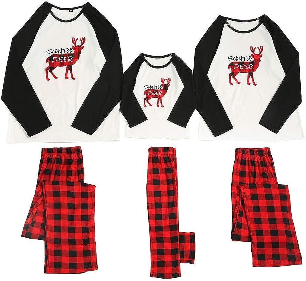Fossen MuRope 2 Piezas Pijama Familiar a Juego Navidad Santa ...