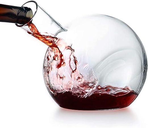 AA Decanter XJQI Carafe en Verre Cristal sans Plomb à 100
