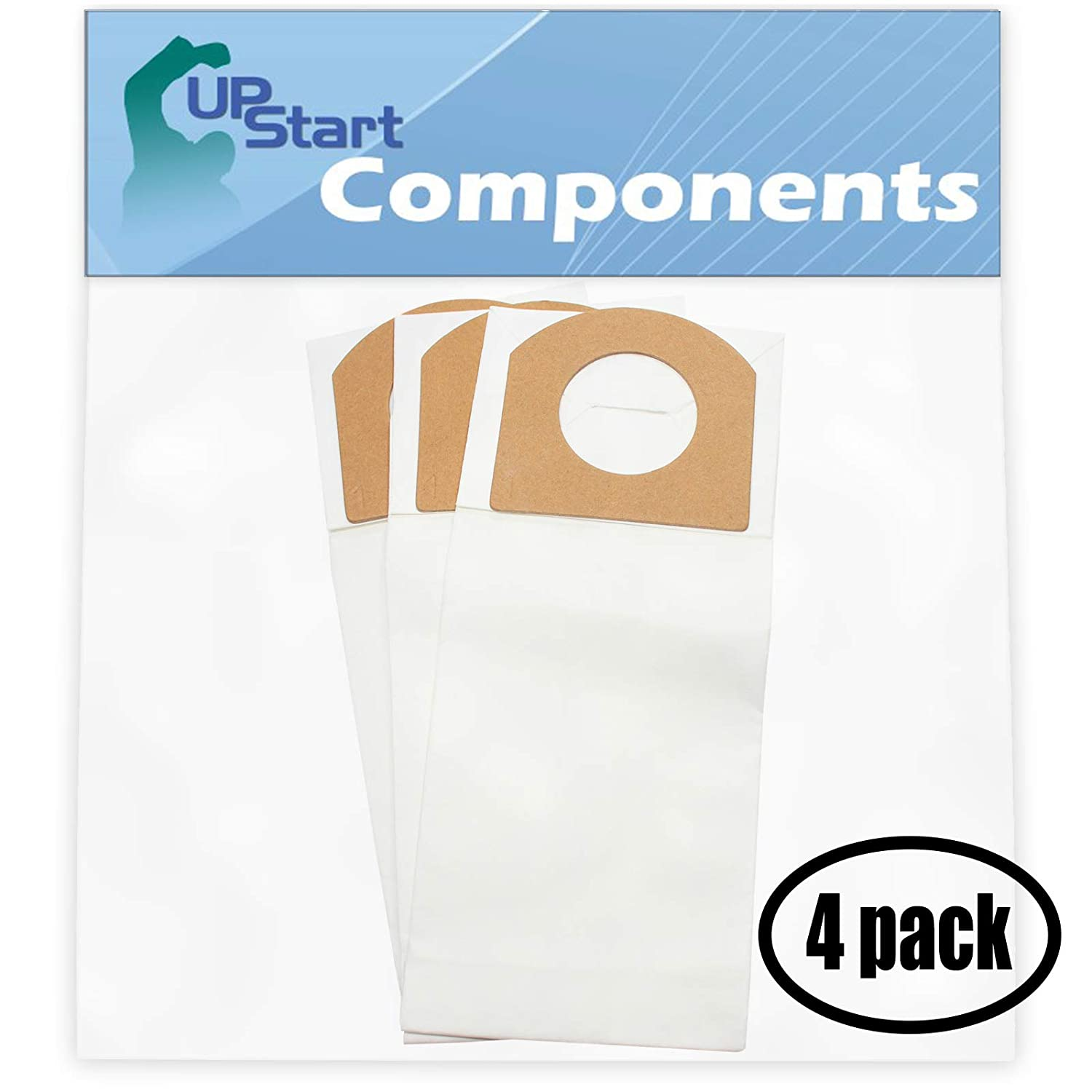 12 Replacement Type G Vacuum Bags for Dirt Devil - Compatible with Dirt Devil 103, Dirt Devil Type G, Dirt Devil M08230RED, Dirt Devil Ultra Corded Bagged Handheld Vacuum M08230RED, Dirt Devil 08100, Dirt Devil 3010347001, Dirt Devil M08230